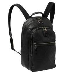 Louis Vuitton Black Damier Infini Leather Michael Backpack