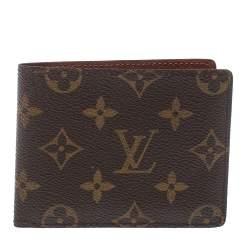 Louis Vuitton Monogram Canvas Bifold Wallet