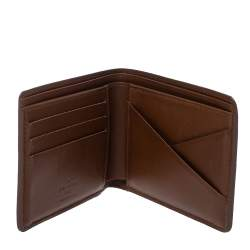Louis Vuitton Brown Nomade Leather Multiple Wallet