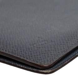 Louis Vuitton Glacier Taiga Leather Passport Holder