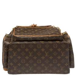 Louis Vuitton Monogram Canvas Trio Backpack