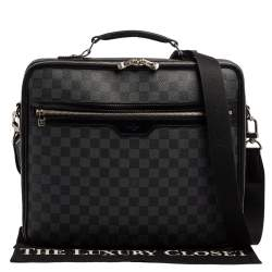 Louis Vuitton Damier Graphite Canvas Steeve Briefcase Bag