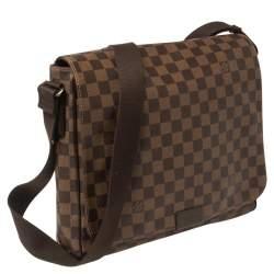 Louis Vuitton Damier Ebene Canvas District MM Bag