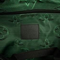 Louis Vuitton Black/Green Monogram 3D Nylon 2054 Reversible Keepall Bandouliere 50 Bag