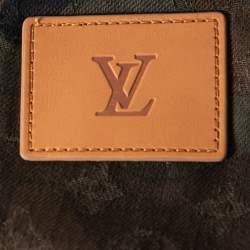 Louis Vuitton x Supreme Green Camo Print Denim Overalls XXS
