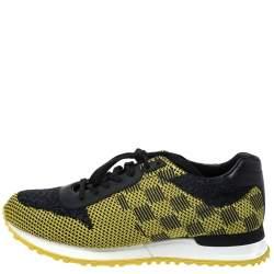 حذاء رياضي لوي فيتون Run Away جلد وقماش تريكو متعدد الألوان مقاس 41