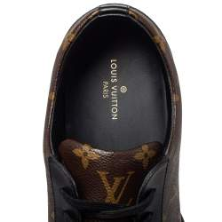 Louis Vuitton Monogram/Black Canvas And Leather Match Up Sneaker Size 43.5