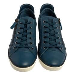 Louis Vuitton Damier Challenge Zip Up Sneakers Size 44