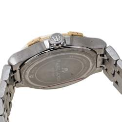 Maurice Lacroix Silver Two-Tone Stainless Steel Aikon AI1008-PVY13-132-1 Men's Wristwatch 42 mm