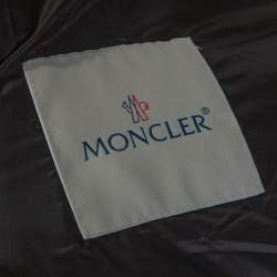 Moncler Black Down Quilted Dustin Puffer Jacket 3XL