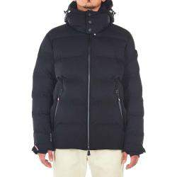 "Moncler Black Quilted Down Jacket ""Montgetech"" Size FR 4"