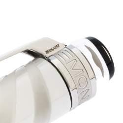 قلم حبر جاف مون بلان ستارووكر دوي فضي اللون سيراميك أبيض