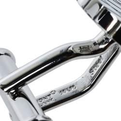 Montblanc Sartorial Steel Archi Round Cufflinks