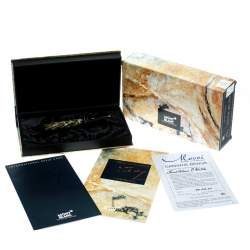 Montblanc Meisterstuck Oscar Wilde Special Edition Fountain Pen, 18k Gold Nib