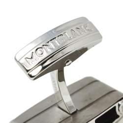 Montblanc UrbanWalker Titanium & Steel Cufflinks