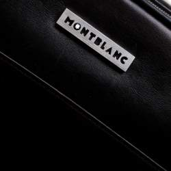 Montblanc Brown Leather Messenger Bag