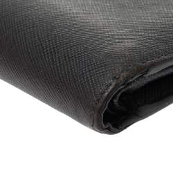 Montblanc Grey Leather Bifold Wallet