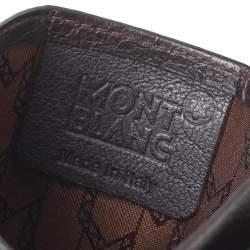 Montblanc Dark Brown Leather Card Holder