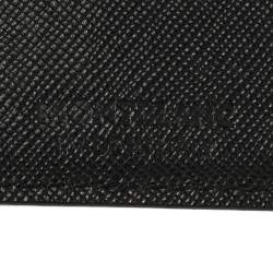 Montblanc Black Leather Meisterstuck Business Card Holder