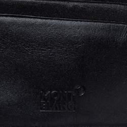 Montblanc Black Leather Meisterstuck Bifold Wallet