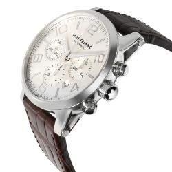 Montblanc White Stainless Steel 9671 Men's Wristwatch 43 MM