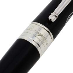 Montegrappa Black PELÉ P10 Limited Edition Black Resin Sterling Silver Fineliner Pen