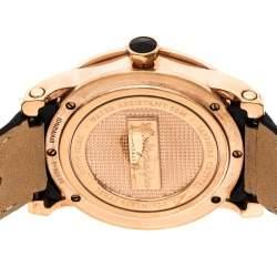Montegrappa Black Rose Gold Plated NeroUno IDNRWAIB Men's Wristwatch 42 mm