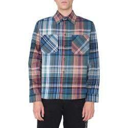 قميص أوف وايت فانيلي أزرق مقاس M