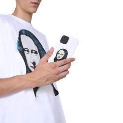 تي شيرت أوف وايت أس/ أس موناليزا أبيض مقاس S