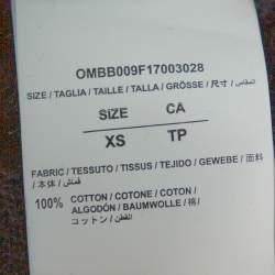 هودي أوف وايت كبير سيينغ ثينغز قطن طباعة دياغونالز أسود XS