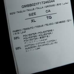 هودي أوف وايت طباعة أي جاست واز ثينكينغ أسود XL
