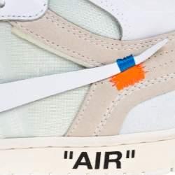 Nike x Off-White Jordan 1 Retro High Top Sneakers Size 44