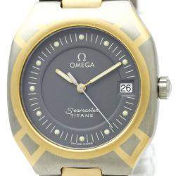 Omega Grey Titanium Seamaster Polaris Men's Wristwatch 31MM