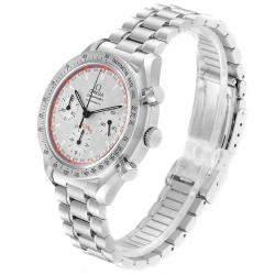 Omega Silver Stainless Steel Speedmaster Schumacher 3517.30.00 Men's Wristwatch 39 MM