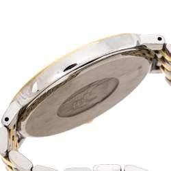 Omega Silver Two-Tone Stainless Steel De Ville 396.2432 Men's Wristwatch 32 mm