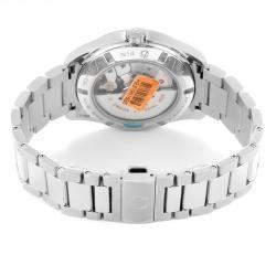 Omega Black Laquered Stainless Steel Seamaster Aqua Terra Anti magnetic 231.10.42.21.01.006 Men's Wristwatch 41.5 MM