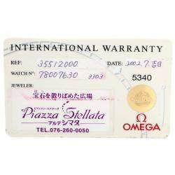 Omega White Stainless Steel Speedmaster Broad Arrow 1957 Chronograph 3551.20.00 Men's Wristwatch 42 MM
