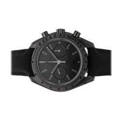 Omega Black Ceramic Speedmaster Dark Side of the Moon Chronograph 311.92.44.51.01.005 Men's Wristwatch 44 MM