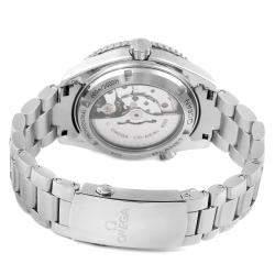 ساعة يد أوميغا سي ماستر بلانيت أوشن ستانلس ستيل 232.30.38.20.01.002 سوداء 37.5 مم