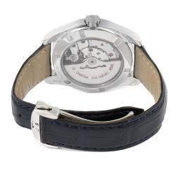 Omega Blue Stainless Steel Seamaster Aqua Terra 220.13.38.20.03.001 Men's Wristwatch 38 MM