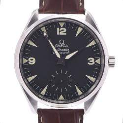 Omega Black Stainless Steel Seamaster Aqua Terra Railmaster 2806.52.37 Men's Wristwatch 48 MM