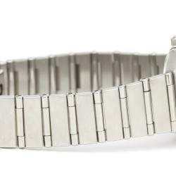 Omega Silver Stainless Steel Constellation Mini 1562.31 Women's Wristwatch 22 MM