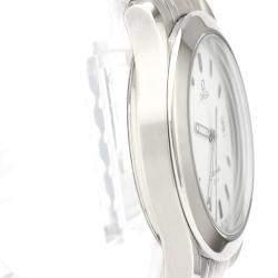 Omega White Stainless Steel Seamaster 120M 2511.21 Men's Wriswatch 36 MM
