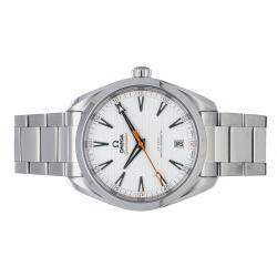 Omega Silver Stainless Steel Seamaster Aqua Terra Golf Edition 150m 220.10.41.21.02.001 Men's Wristwatch 41 MM