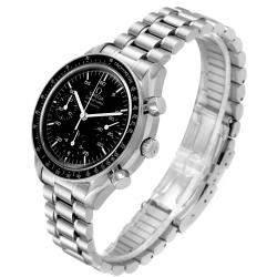Omega Black Stainless Steel Speedmaster 3510.50.00 Men's Wristwatch 39 MM