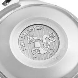 Omega Black Stainless Steel Speedmaster Date 3513.50.00 Men's Wristwatch 39 MM