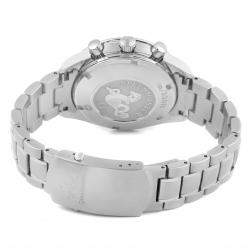 Omega Silver Stainless Steel Speedmaster Date 323.10.40.40.02.001 Men's Wristwatch 40 MM