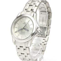 Omega Silver Stainless Steel Seamaster 120M Chronometer Automatic 2501.31 Men's Wristwatch 36 MM