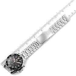 Omega Black Stainless Steel Seamaster 300M Chronograph Americas Cup 2594.50.00 Men's Wristwatch 41.5 MM