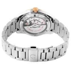 Omega Grey 18K Rose Gold And Stainless Steel Seamaster Aqua Terra 231.20.39.21.06.003 Men's Wristwatch 41.5 MM